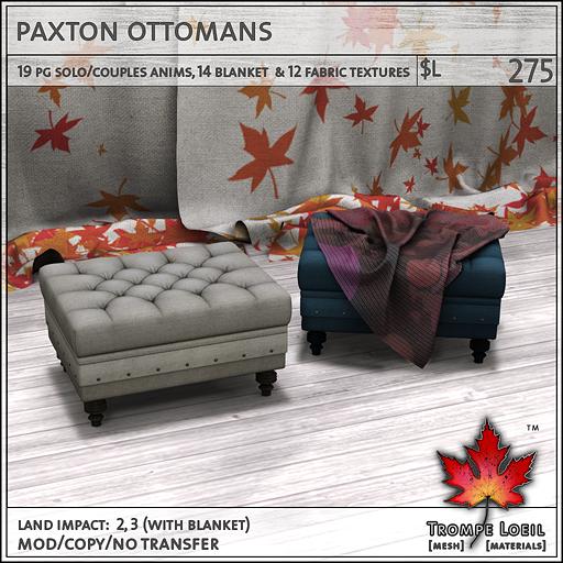paxton ottomans L275