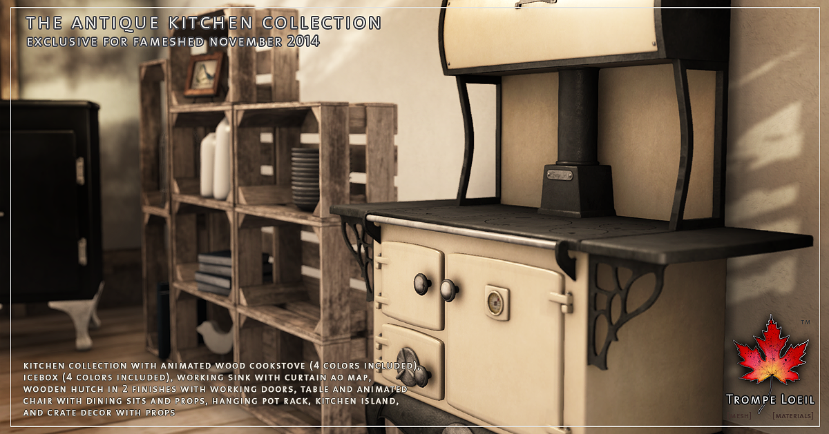 antique kitchen collection for fameshed november. beautiful ideas. Home Design Ideas