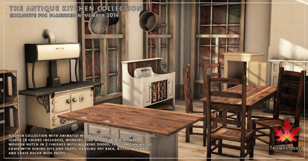 Trompe Loeil - Antique Kitchen Collection promo 4