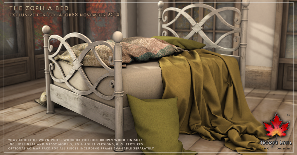 Trompe Loeil - The Zophia Bed promo 1