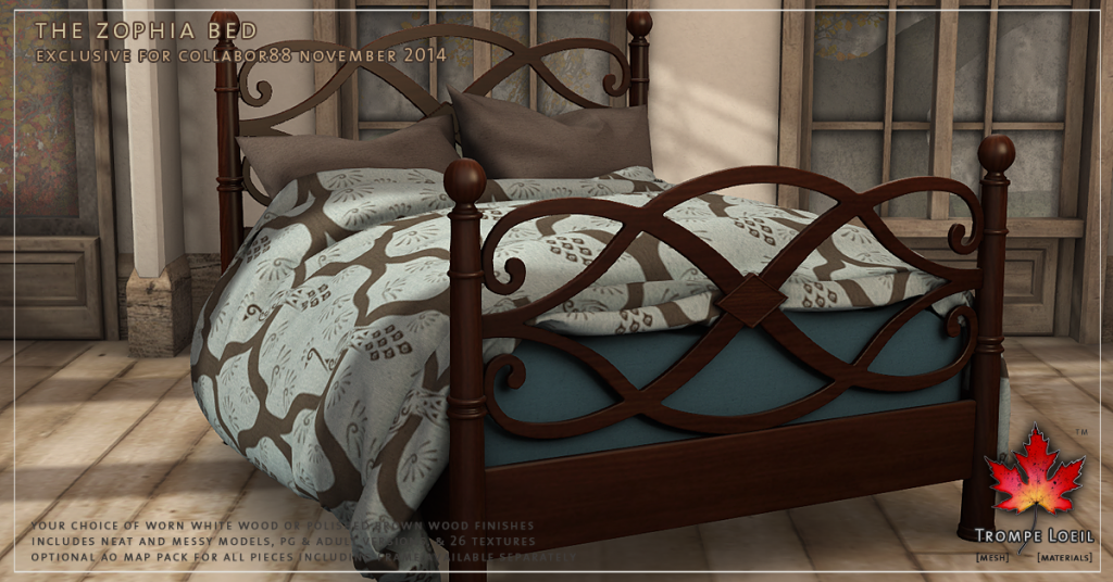 Trompe Loeil - The Zophia Bed promo 2