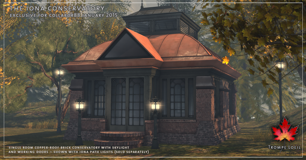 Trompe Loeil - Iona Conservatory and Path Lights Promo