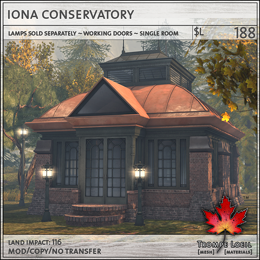 iona conservatory sales L188