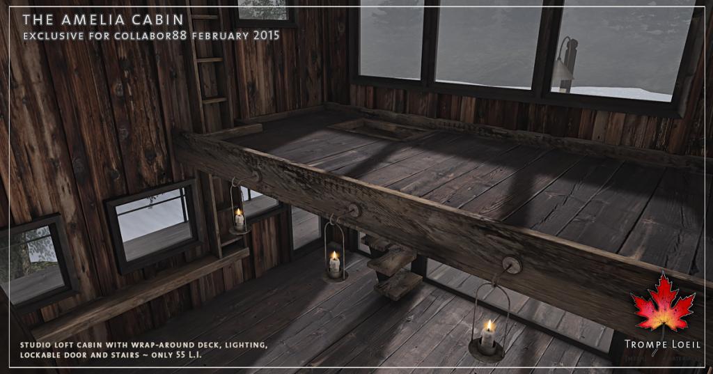 Trompe Loeil - Amelia Cabin promo 2