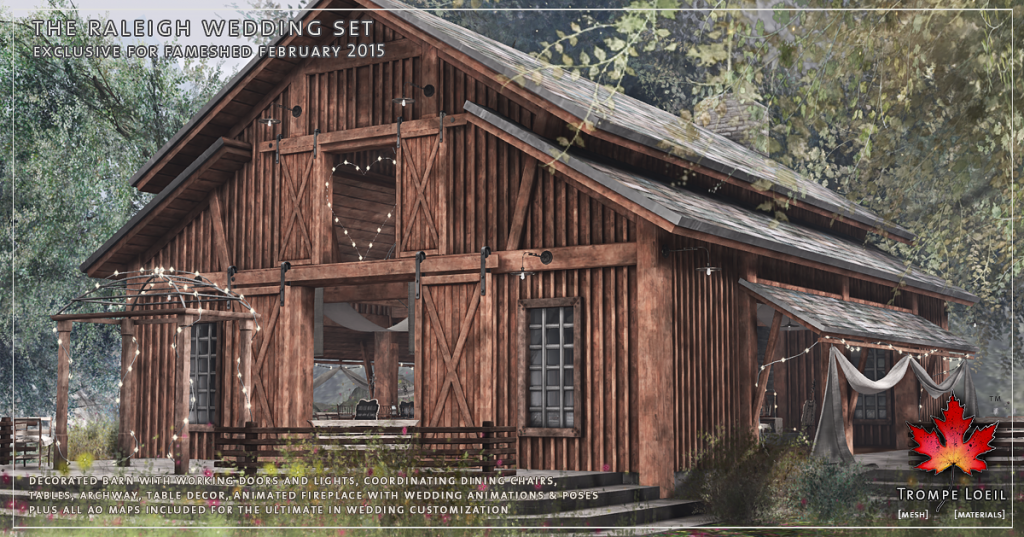 Trompe Loeil - The Raleigh Wedding Set promo 1