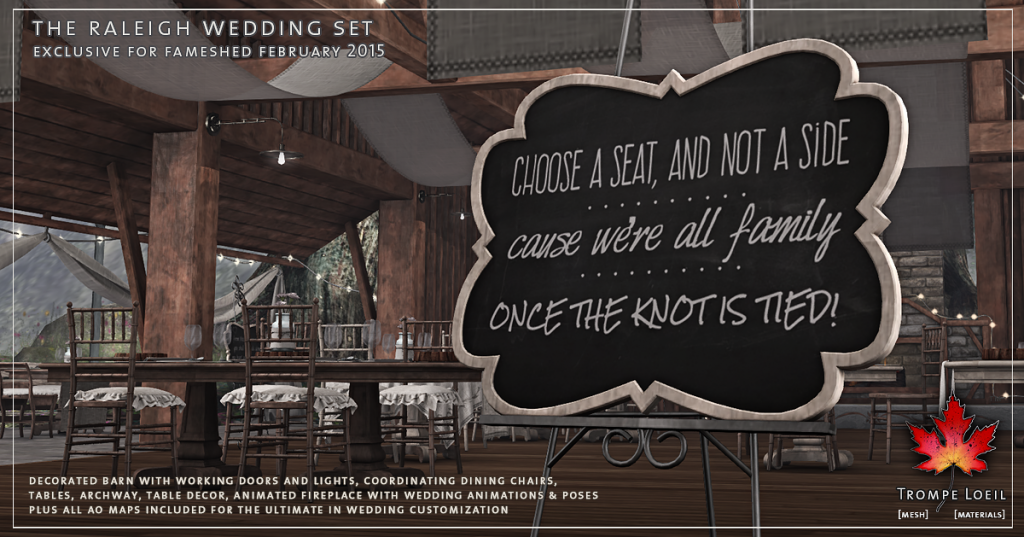 Trompe Loeil - The Raleigh Wedding Set promo 2