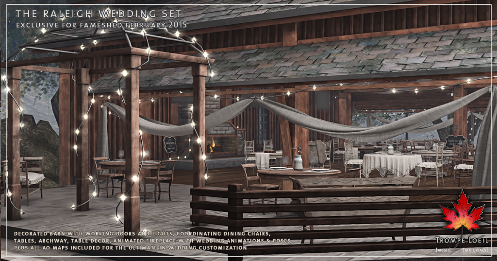 Trompe Loeil - The Raleigh Wedding Set promo 3