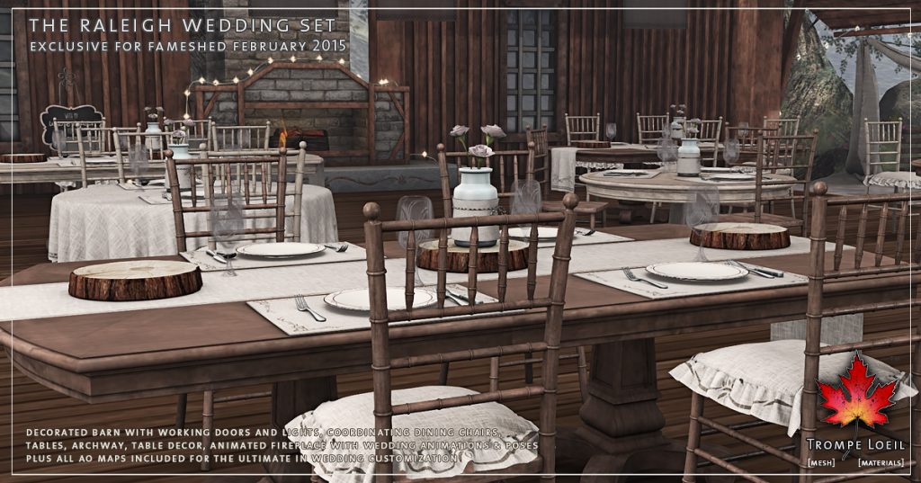 Trompe Loeil - The Raleigh Wedding Set promo 4
