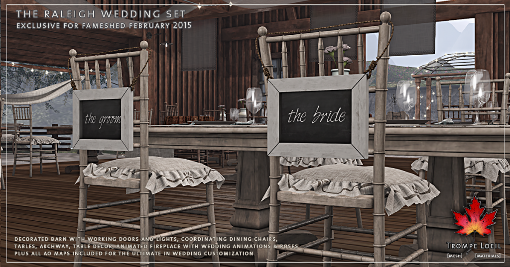Trompe Loeil - The Raleigh Wedding Set promo 5