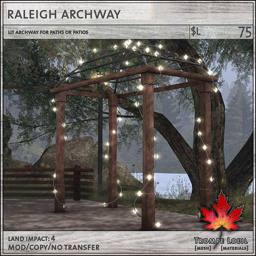 raleigh archway L75