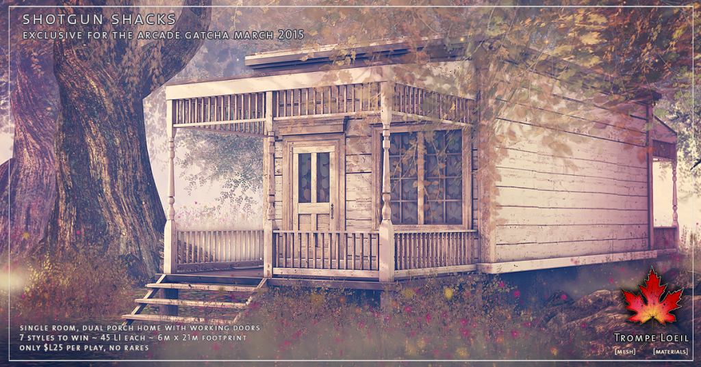 Trompe Loeil - Shotgun Shacks Arcade March 2015 promo