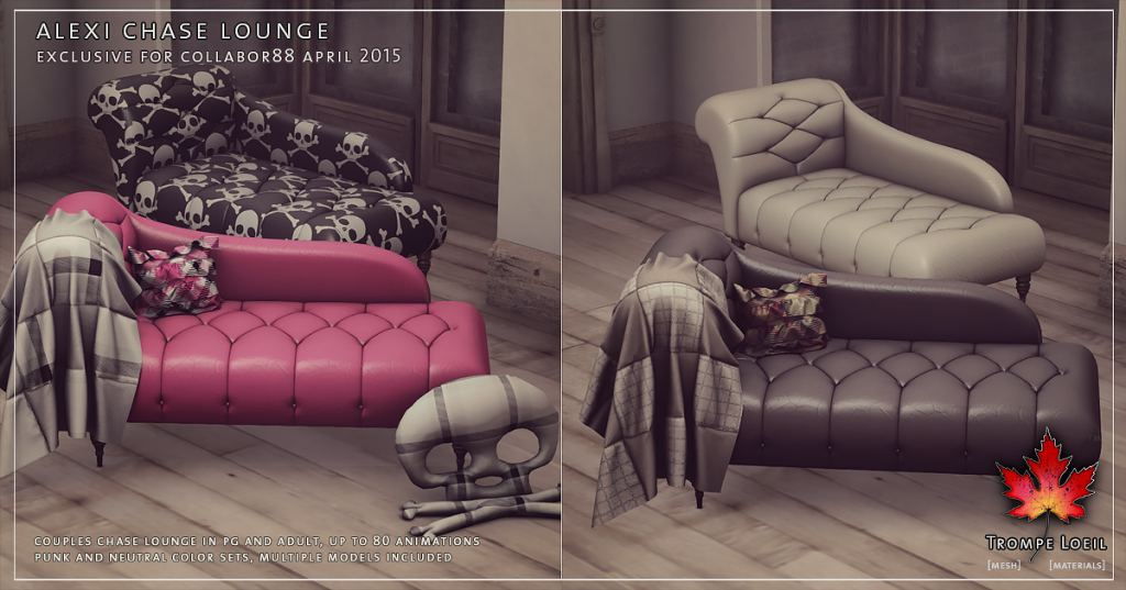 Trompe Loeil - Alexi Chase Lounge for Collabor88 April