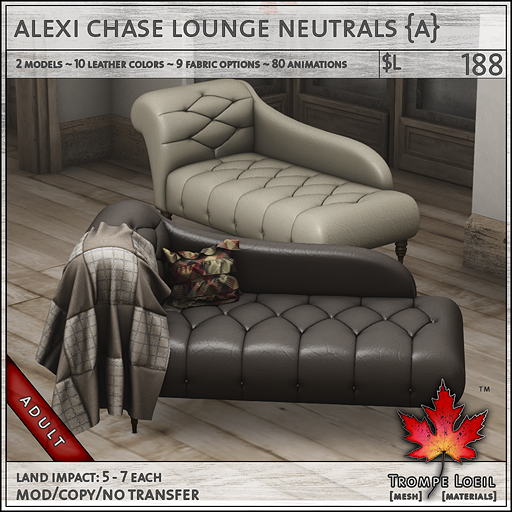 alexi chase lounge neutrals Adult L188