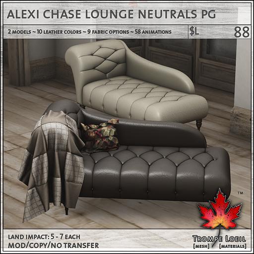 alexi chase lounge neutrals PG L88