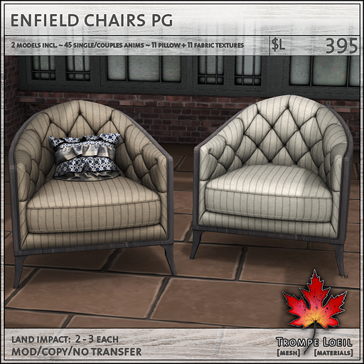 enfield chairs PG sales L395