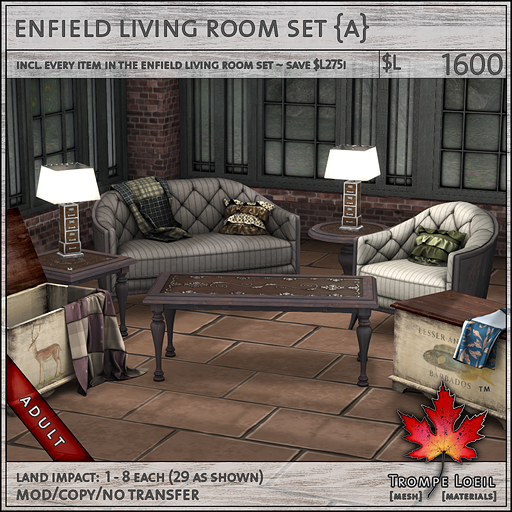 enfield living room set L1600