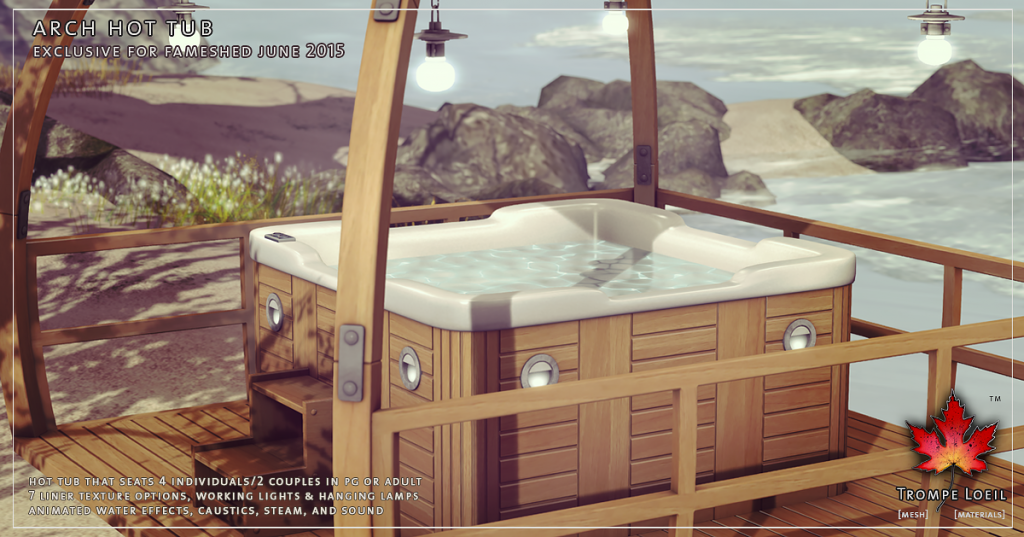 Trompe Loeil - Arch Hot Tub for FaMESHed June 2015 2