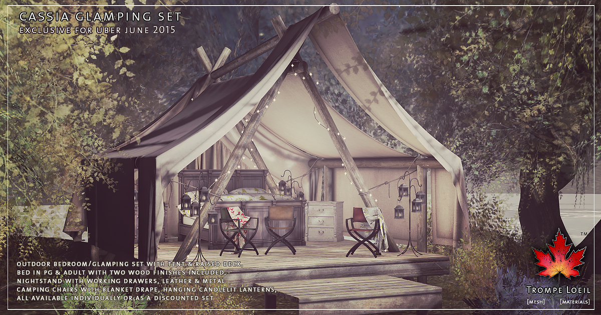 Cassia Glamping Set for Uber June