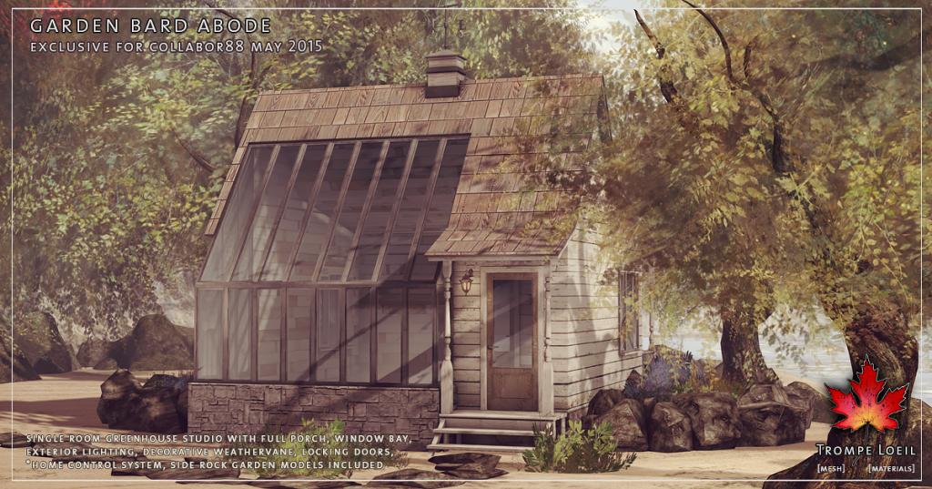 Trompe Loeil - Garden Bard Abode promo 01