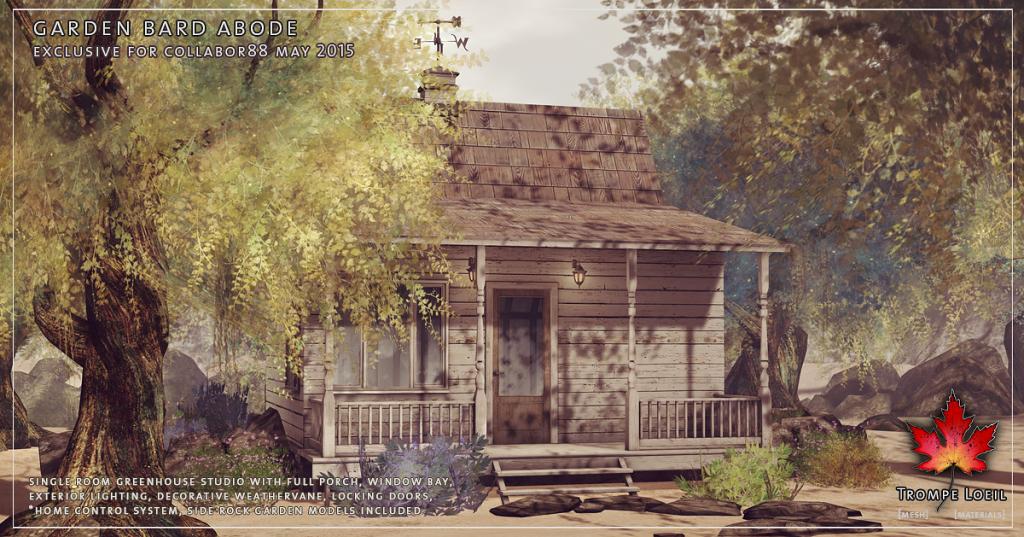 Trompe Loeil - Garden Bard Abode promo 03