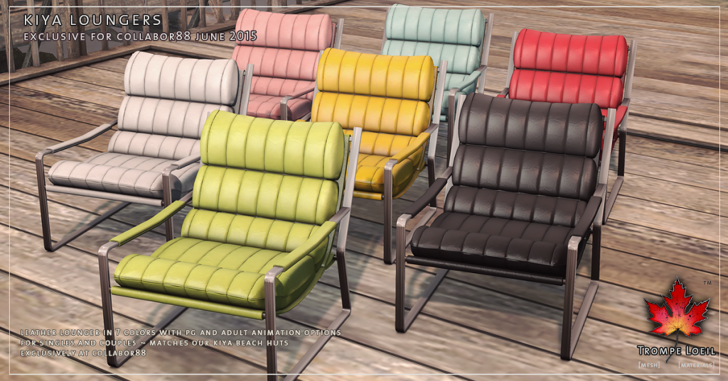 Trompe Loeil - Kiya Loungers for Collabor88