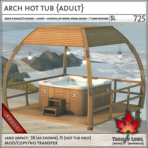arch hot tub sales Adult L725