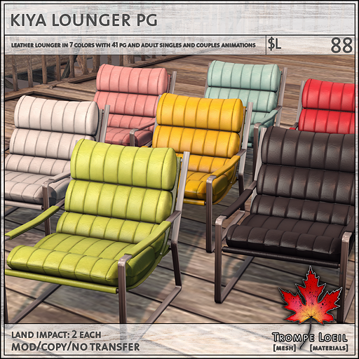 kiya lounger PG L88