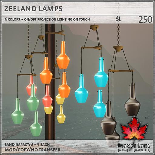 zeeland lamps L250