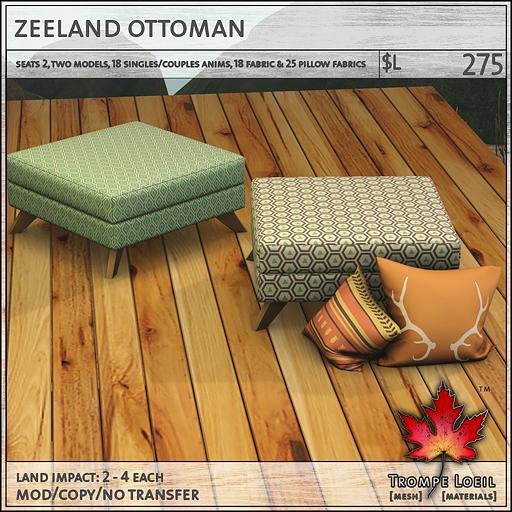 zeeland ottoman L275