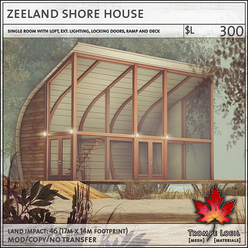 zeeland shore house L300
