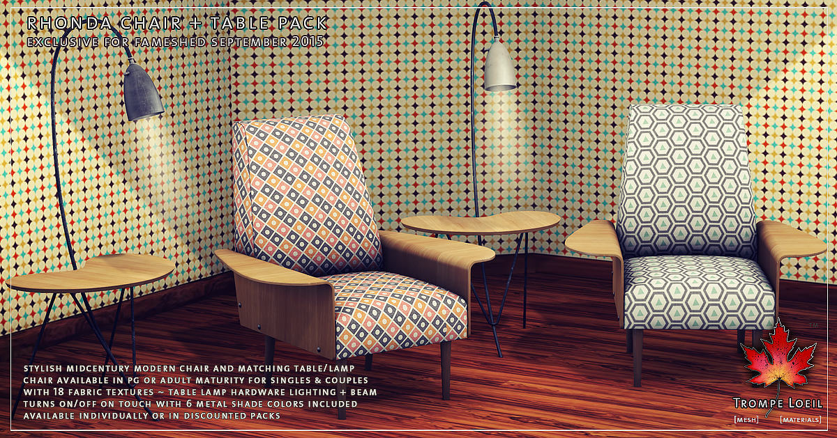 Nesting beds for arcade and rhonda chair table set for fameshed september trompe loeil - Trompe loeil hoofd bed ...