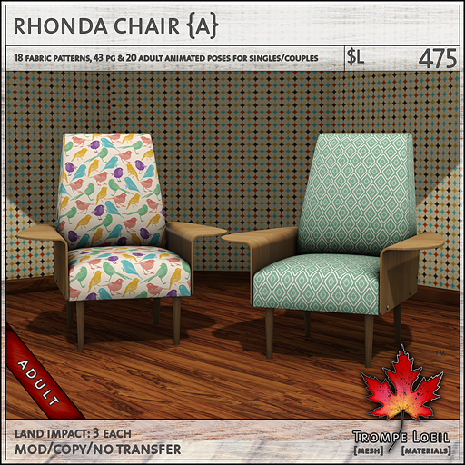 rhonda chair Adult L475