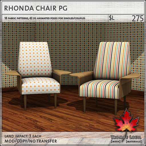 rhonda chair PG L275
