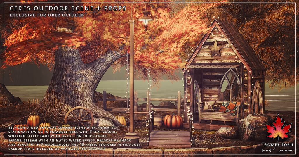 Trompe Loeil - Ceres Outdoor Scene + Props promo 1