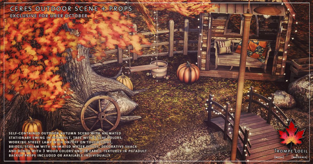 Trompe Loeil - Ceres Outdoor Scene + Props promo 2