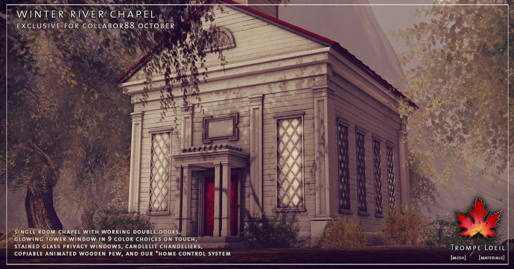 Trompe Loeil - Winter River Chapel promo 02