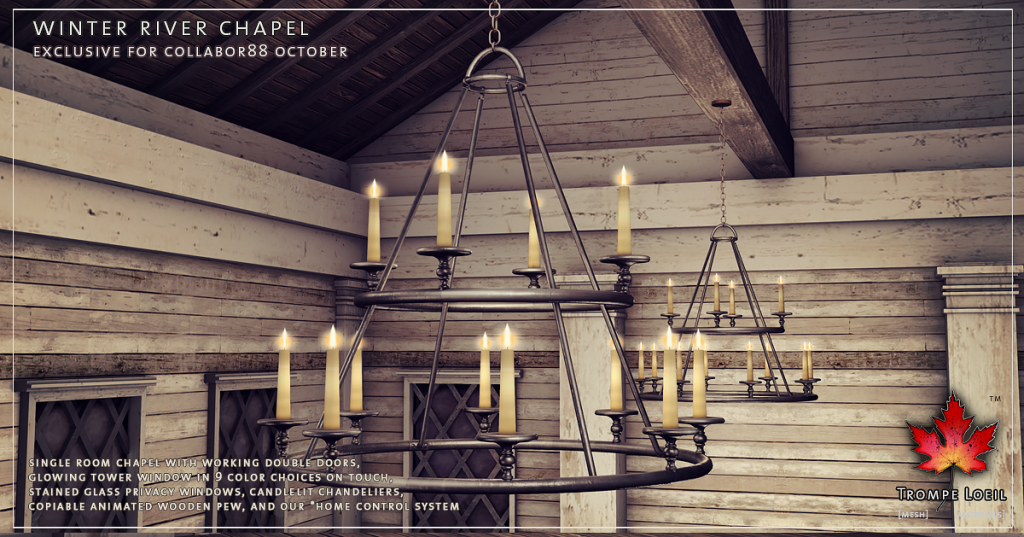 Trompe Loeil - Winter River Chapel promo 03