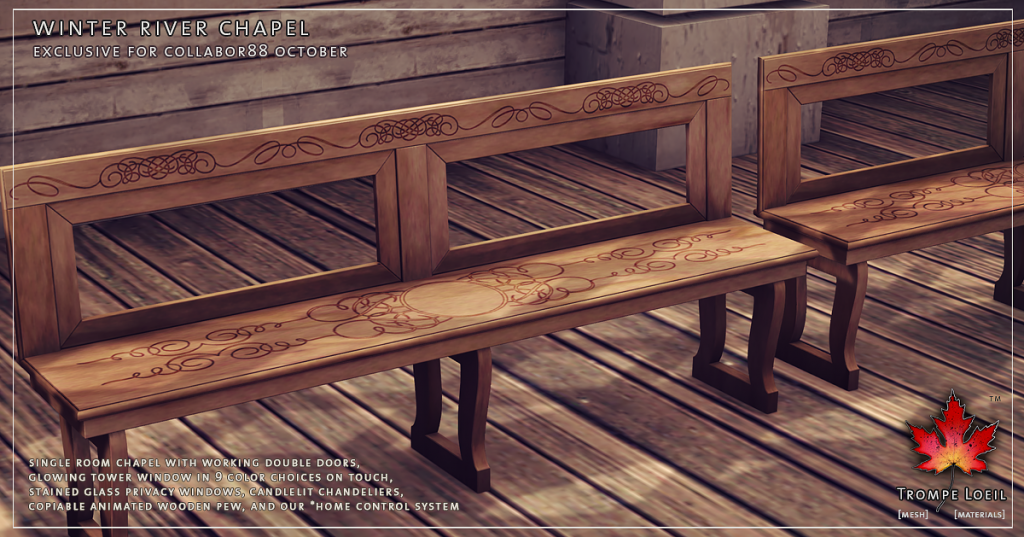 Trompe Loeil - Winter River Chapel promo 04
