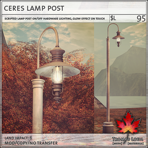 ceres lamp post L95