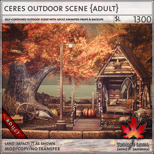 ceres outdoor scene Adult L1300