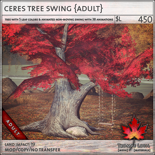 ceres tree swing Adult L450