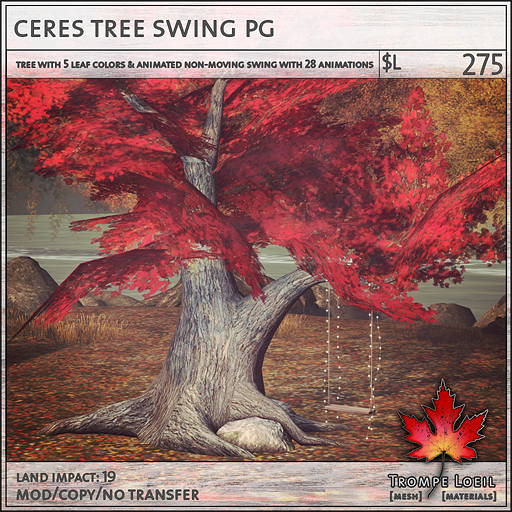 ceres tree swing PG L275
