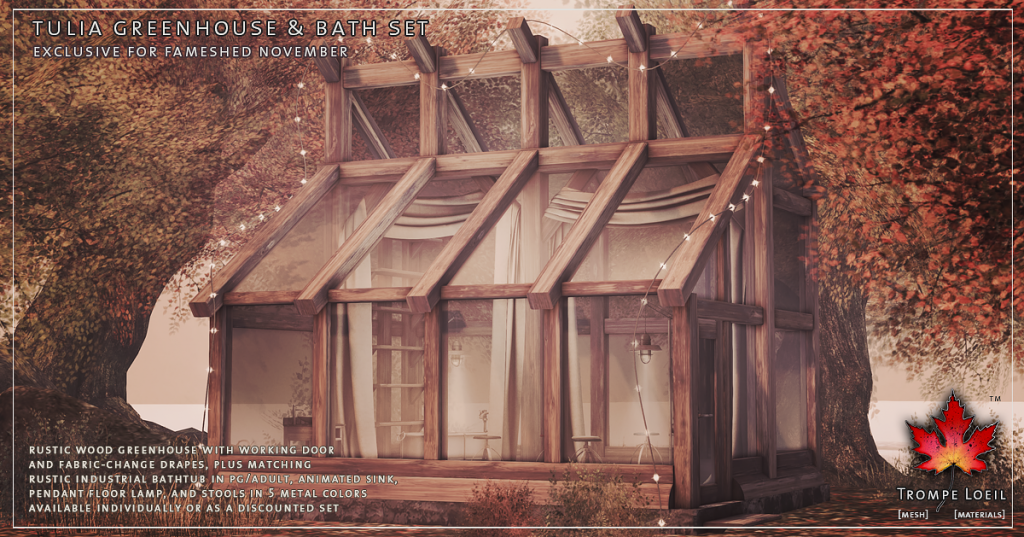 Trompe Loeil - Tulia Greenhouse and Bath Set promo