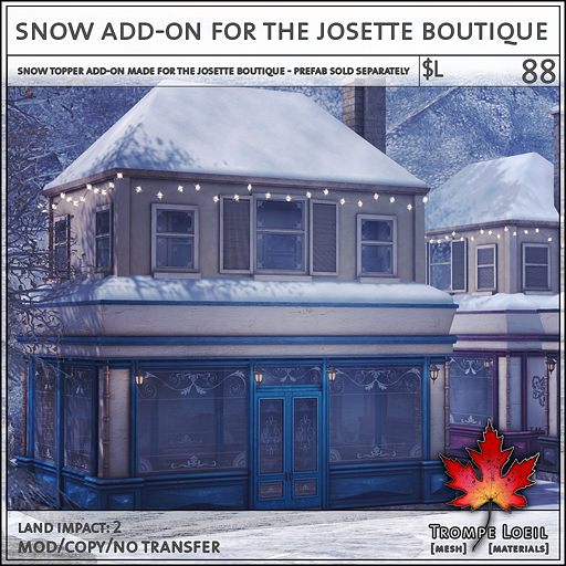josette boutique snow add on L88