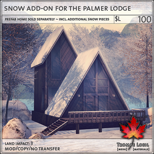 snow add-on for the palmer lodge L100