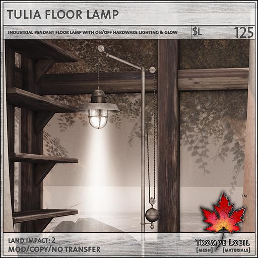 tulia floor lamp L125