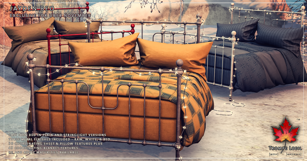 Trompe Loeil - Jayden Bed for Uber November promo