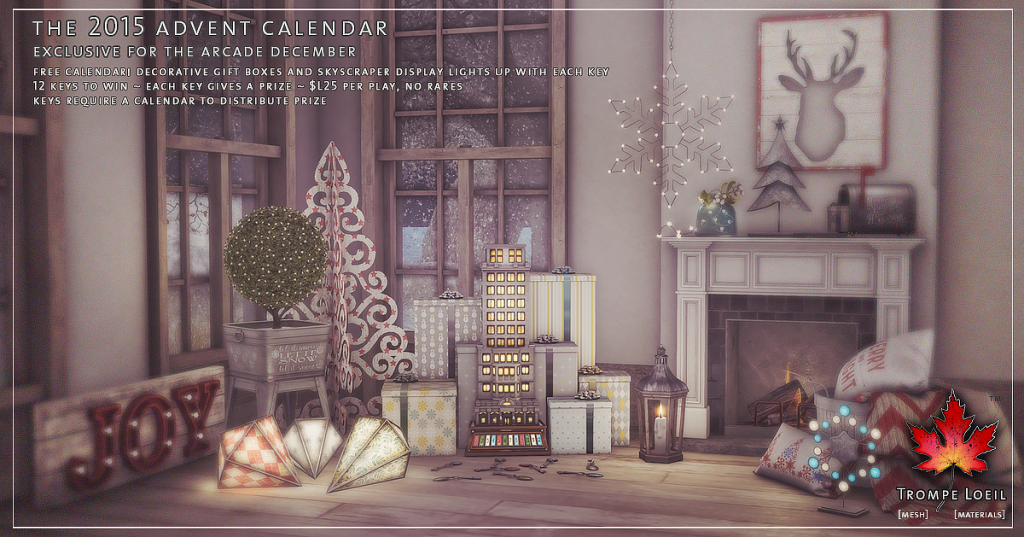 Trompe Loeil - The 2015 Advent Calendar for The Arcade December 01