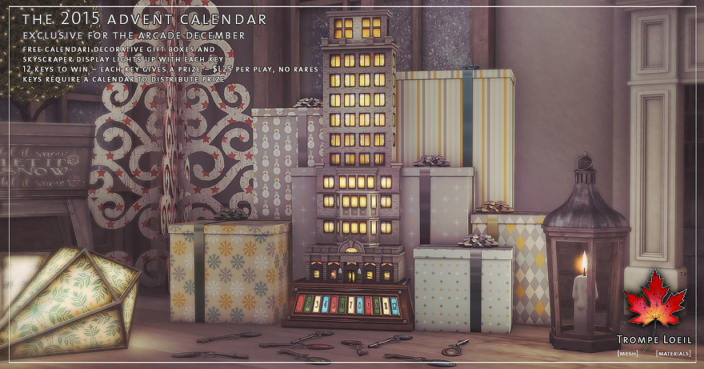 Trompe Loeil - The 2015 Advent Calendar for The Arcade December 02
