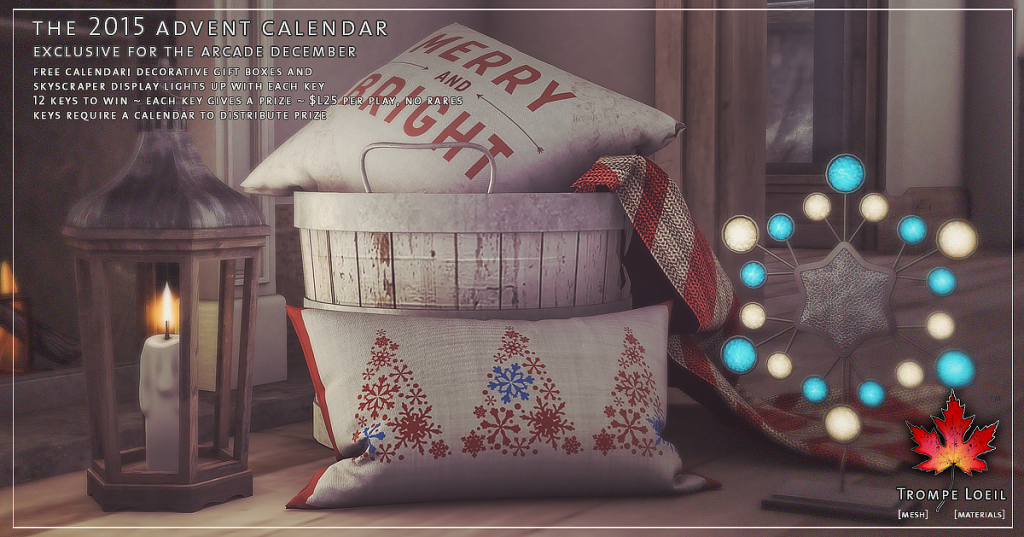 Trompe Loeil - The 2015 Advent Calendar for The Arcade December 03